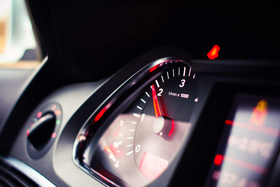 Download RPM Tachometer FREE Stock Photo