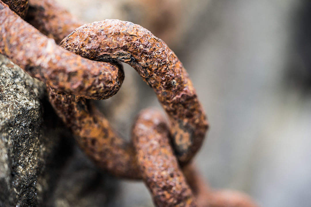 Download Rusty Chain FREE Stock Photo