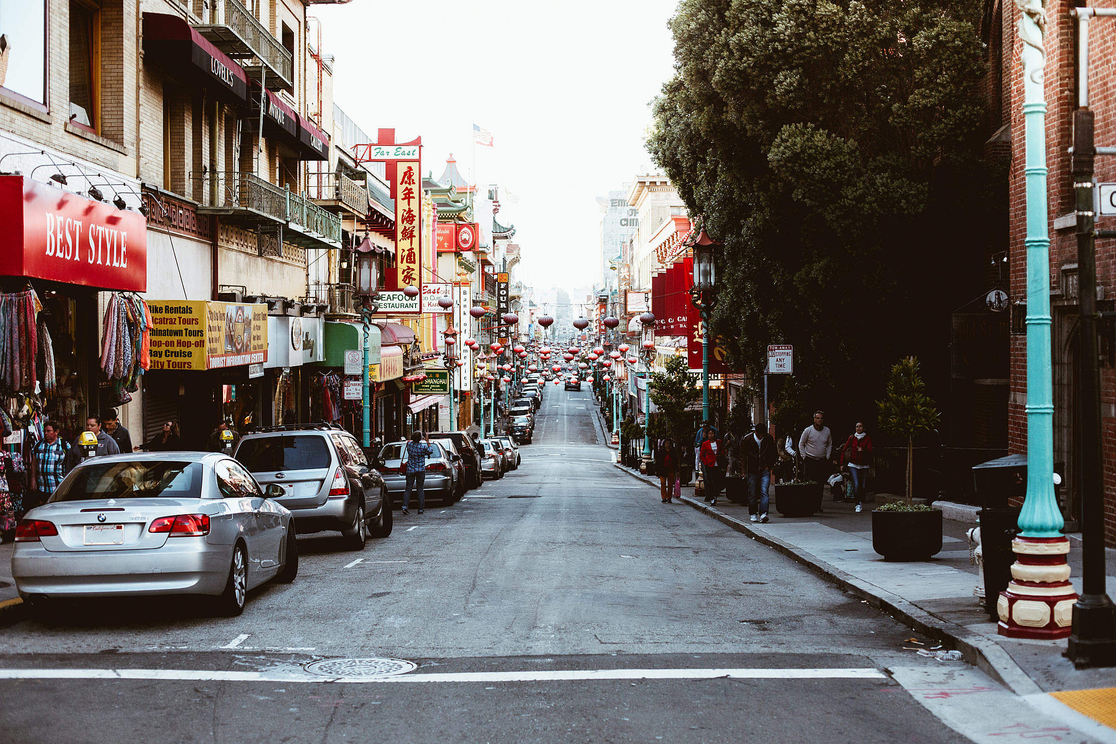 San Francisco Chinatown Free Stock Photo