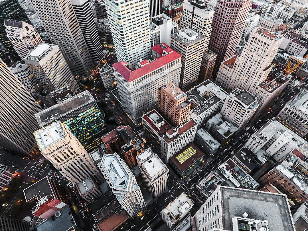 Download San Francisco Financial District Skyscrapers FREE Stock Photo