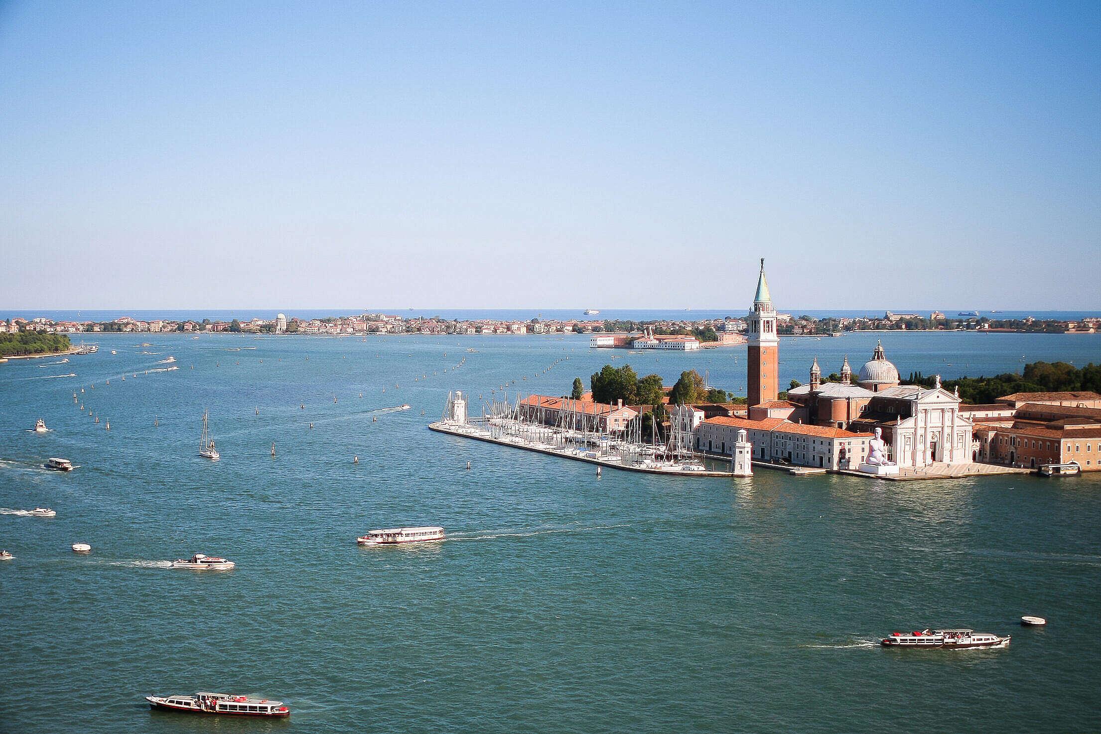 San Giorgio Maggiore Church, Venice Free Stock Photo