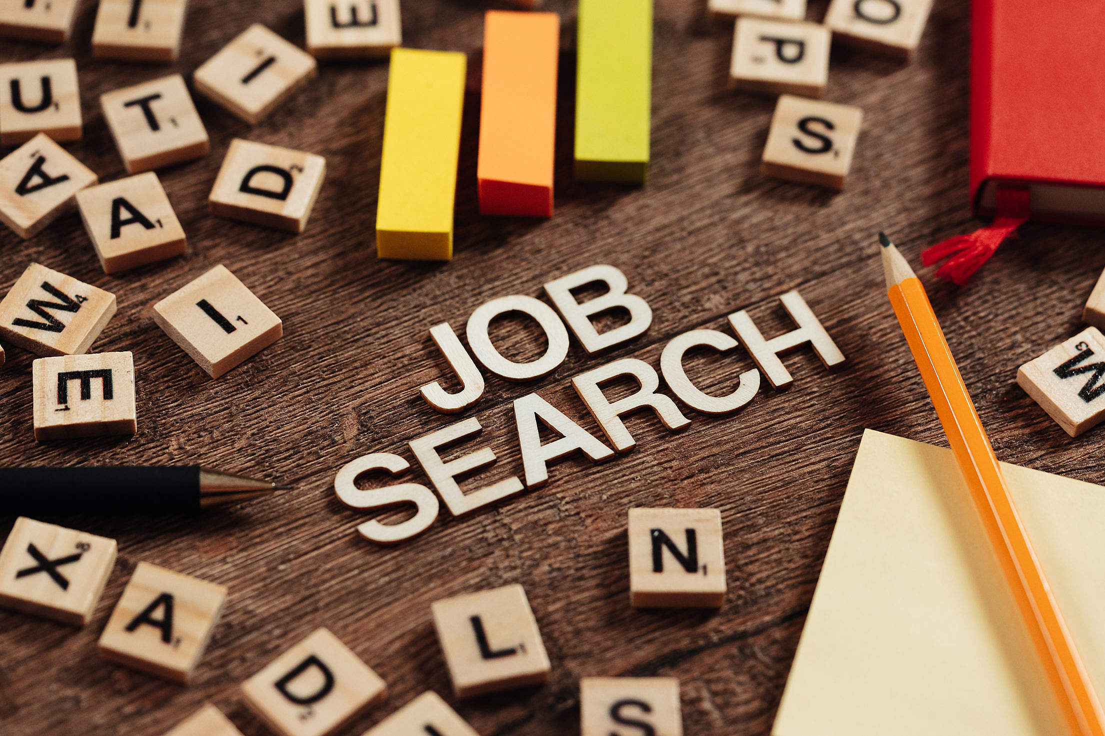 Searching for a New Job Free Stock Photo