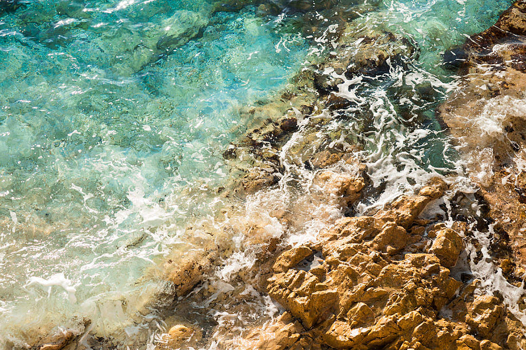 Download Seaside Rocks Close Up FREE Stock Photo