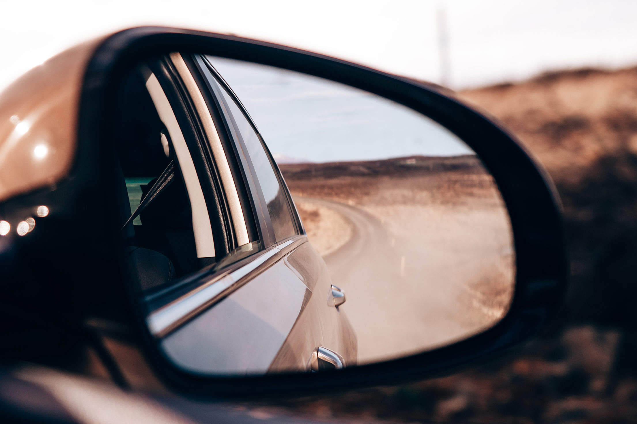Side Rear-view Mirror Free Stock Photo