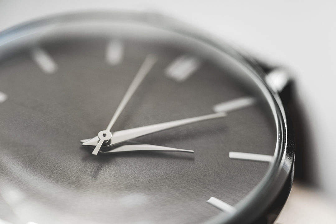 Download Simple & Classy Silver Watches Close Up FREE Stock Photo
