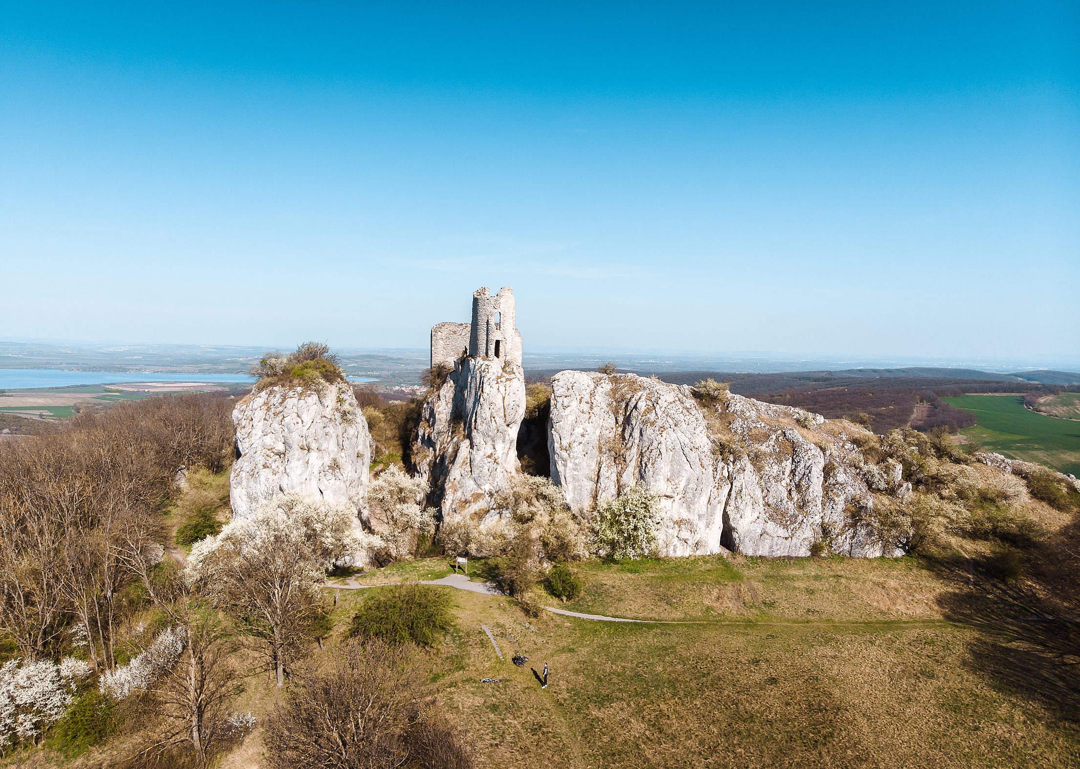 Sirotci Hradek Klentnice Ruins of Orphan's Castle Free Stock Photo