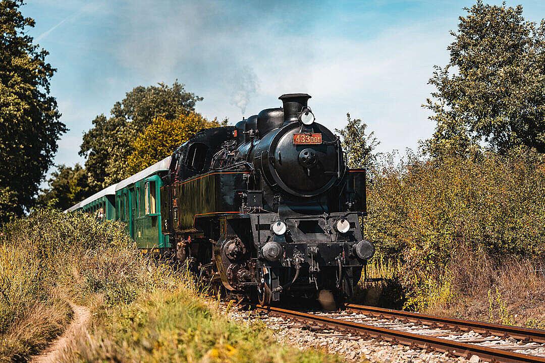 Download Skaličák 433.001 Old Steam Locomotive FREE Stock Photo