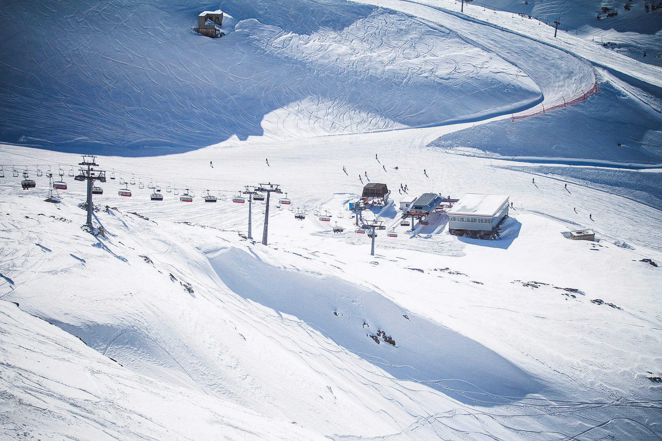 Ski Resort in Austria Free Stock Photo