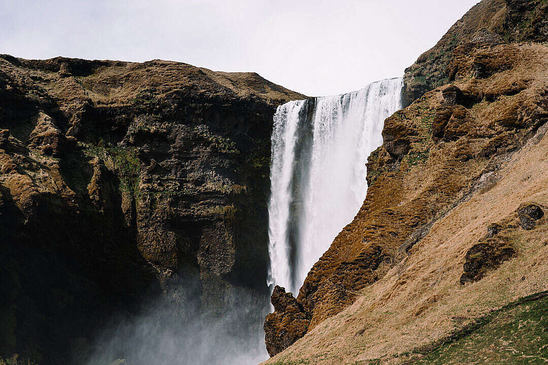 Download Skógafoss Waterfall Iceland FREE Stock Photo