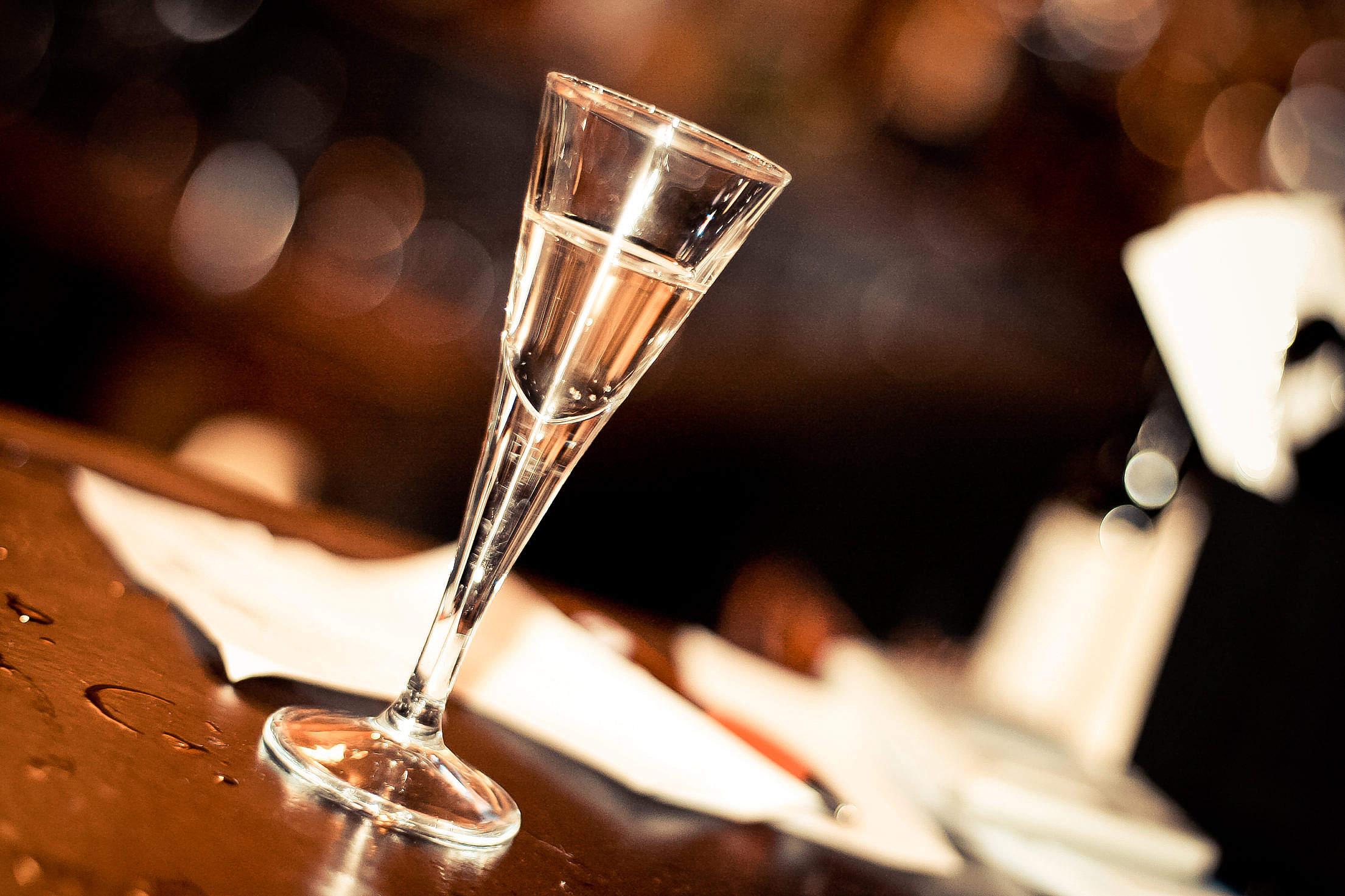 Download Small Liquor Shot Glass Free Stock Photo