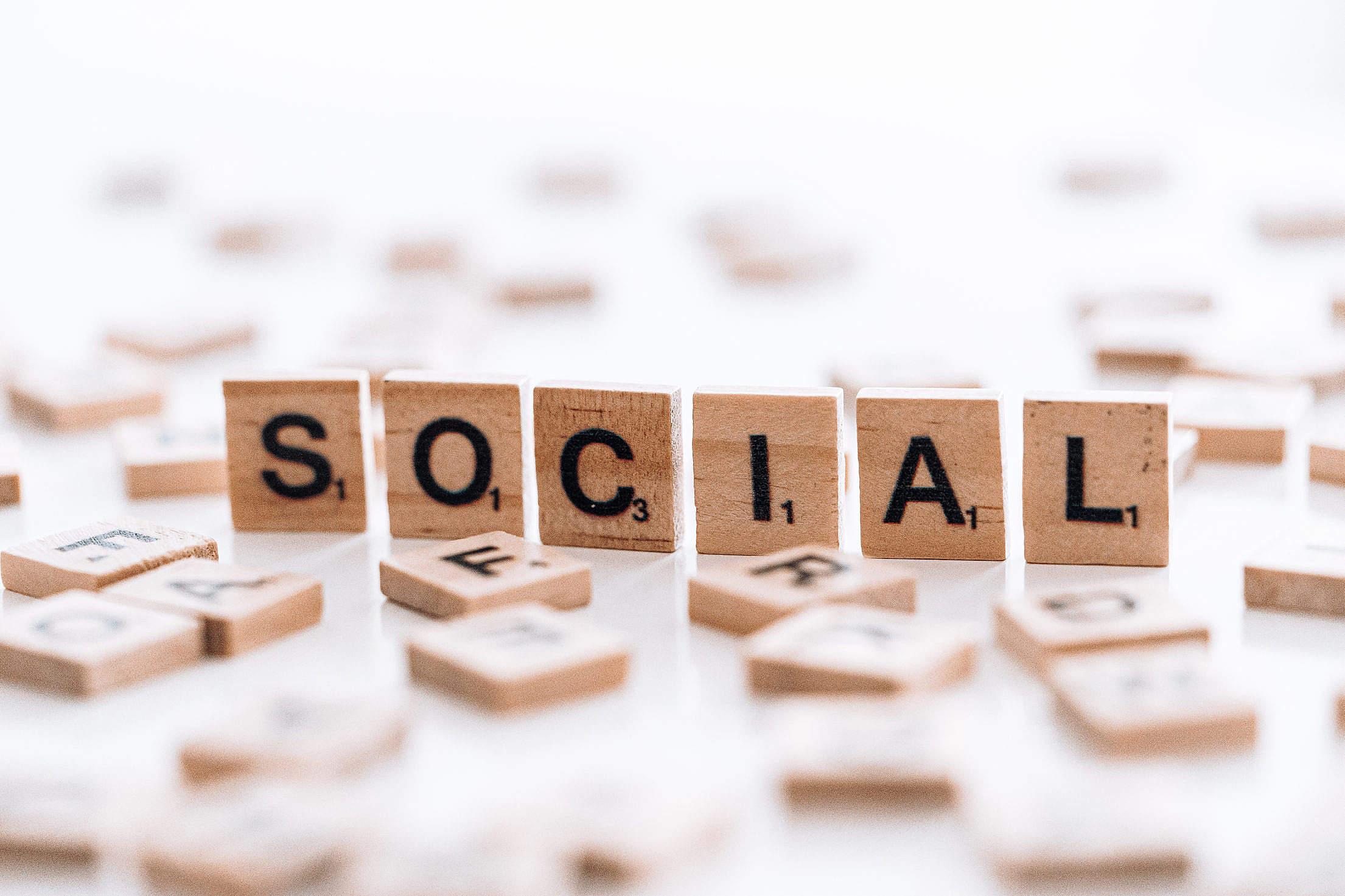 Social Free Stock Photo