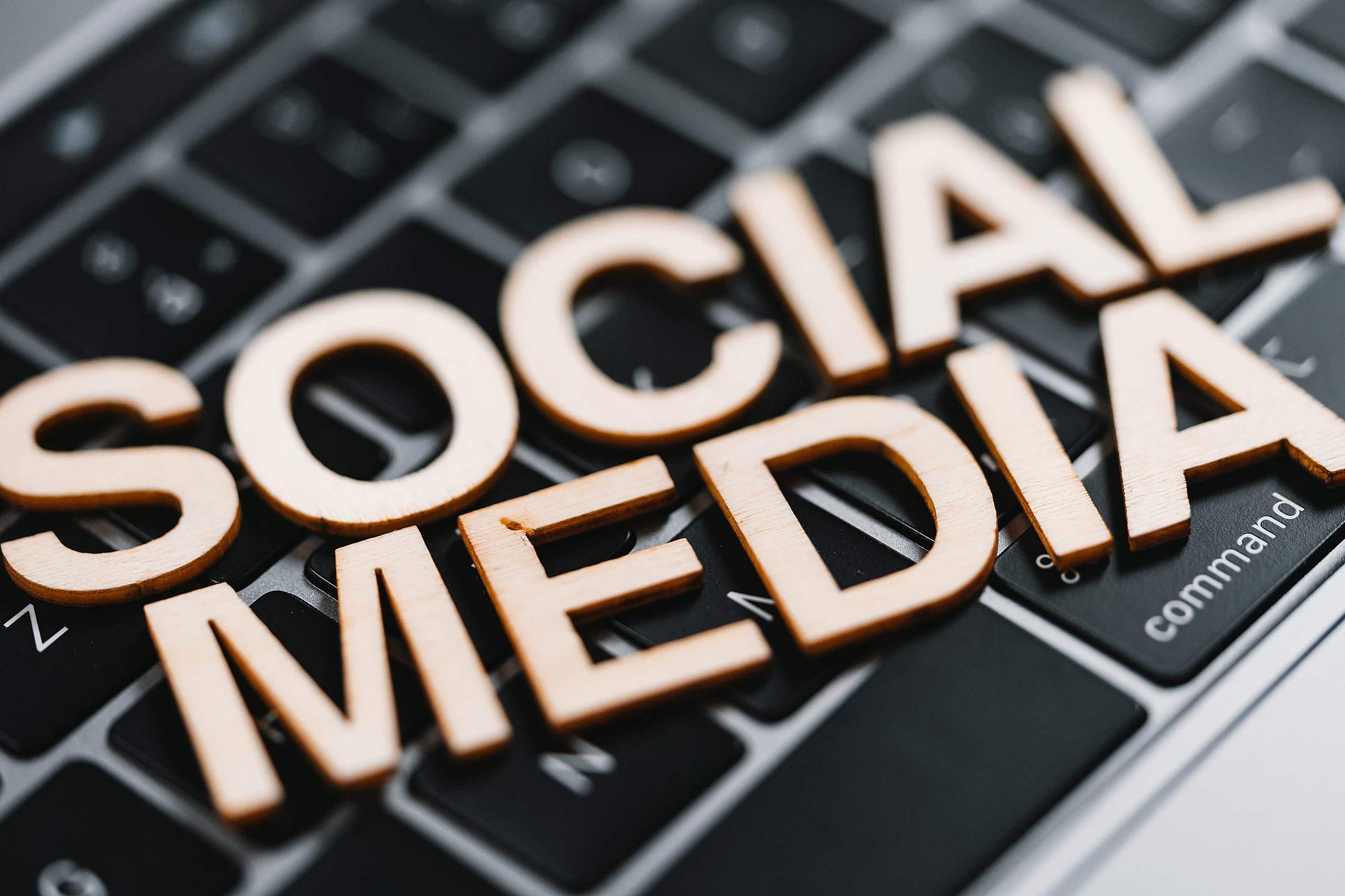Social Media Free Stock Photo