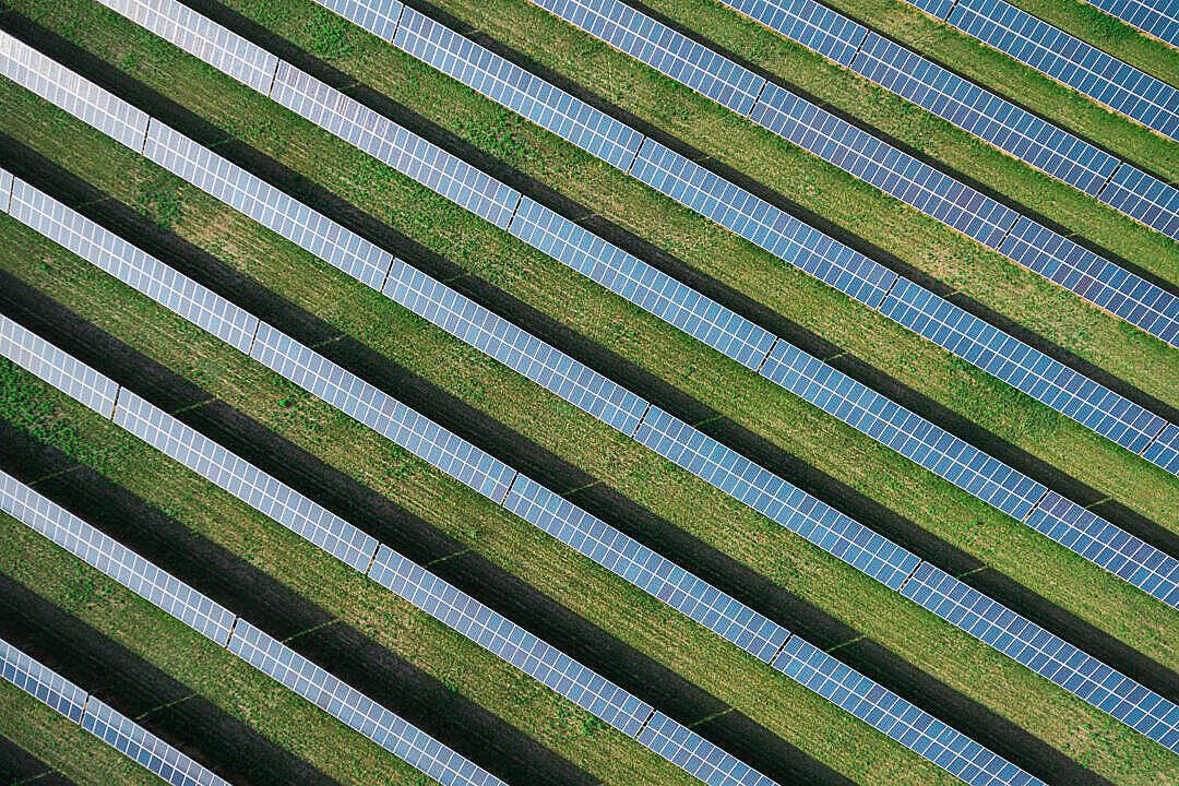 Download Solar Power Plant FREE Stock Photo