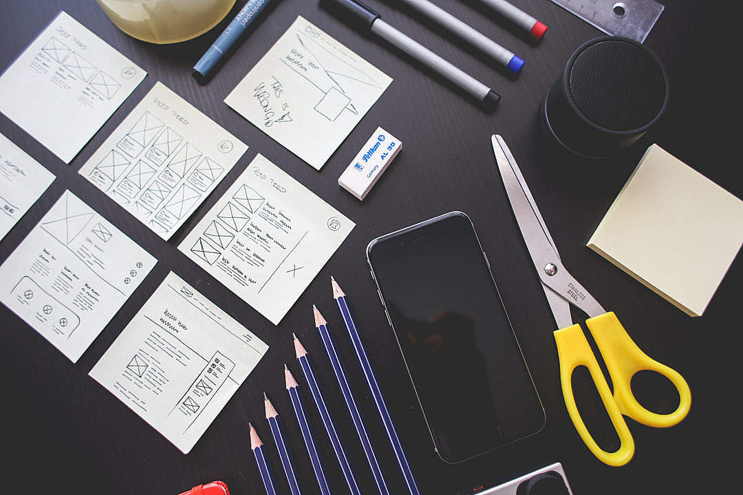 Download Some Office Things FREE Stock Photo