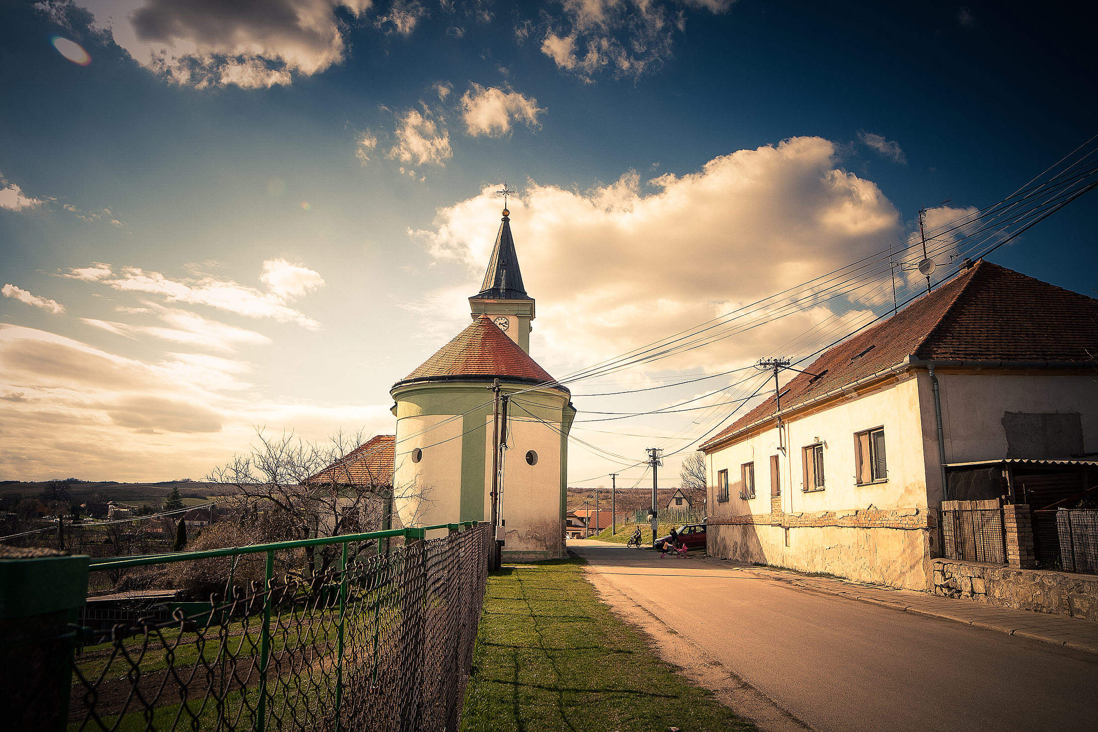 South Moravia Village Free Stock Photo