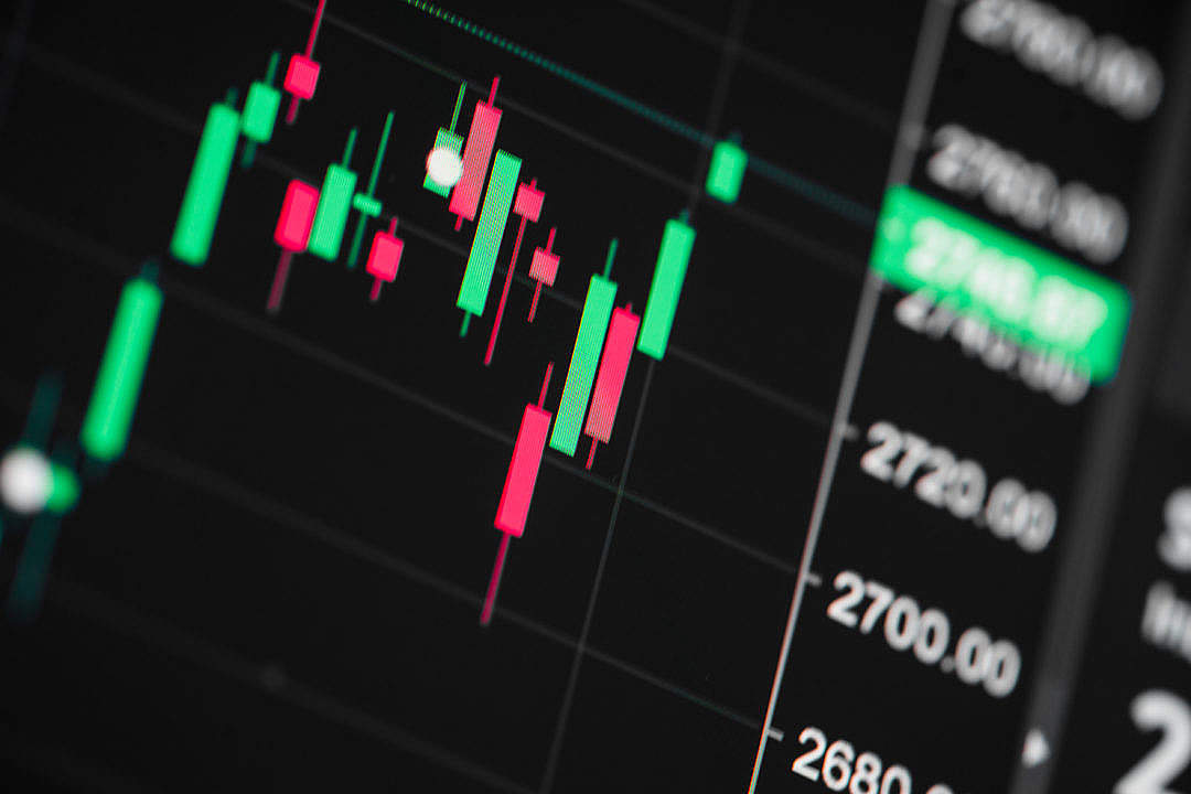 Download Stock Exchange Live Chart FREE Stock Photo