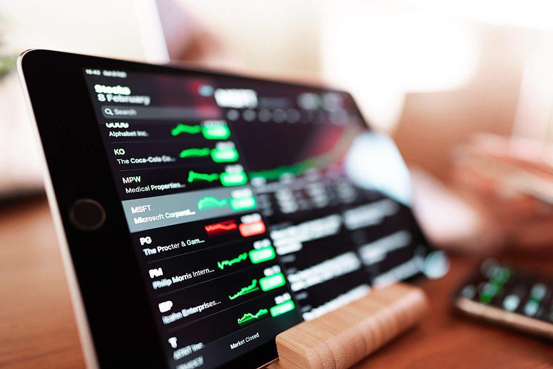 Download Stock Market Analytics Charts FREE Stock Photo