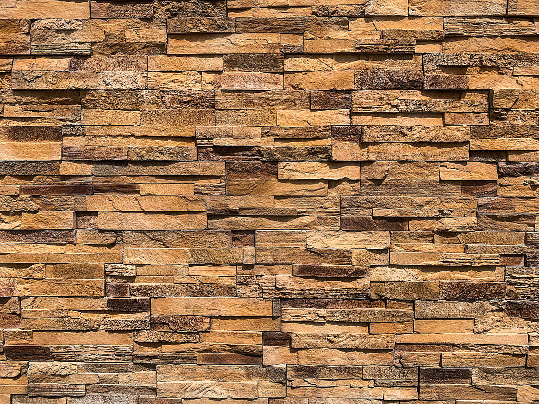 Download Stone Cladding Wall FREE Stock Photo