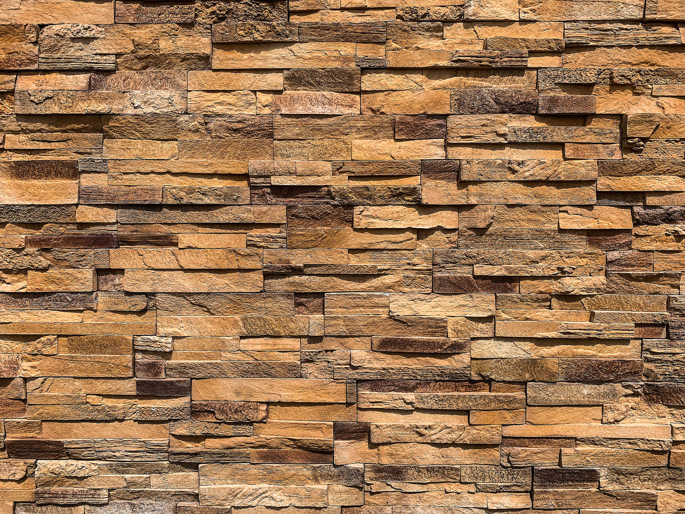 Stone Cladding Wall Free Stock Photo