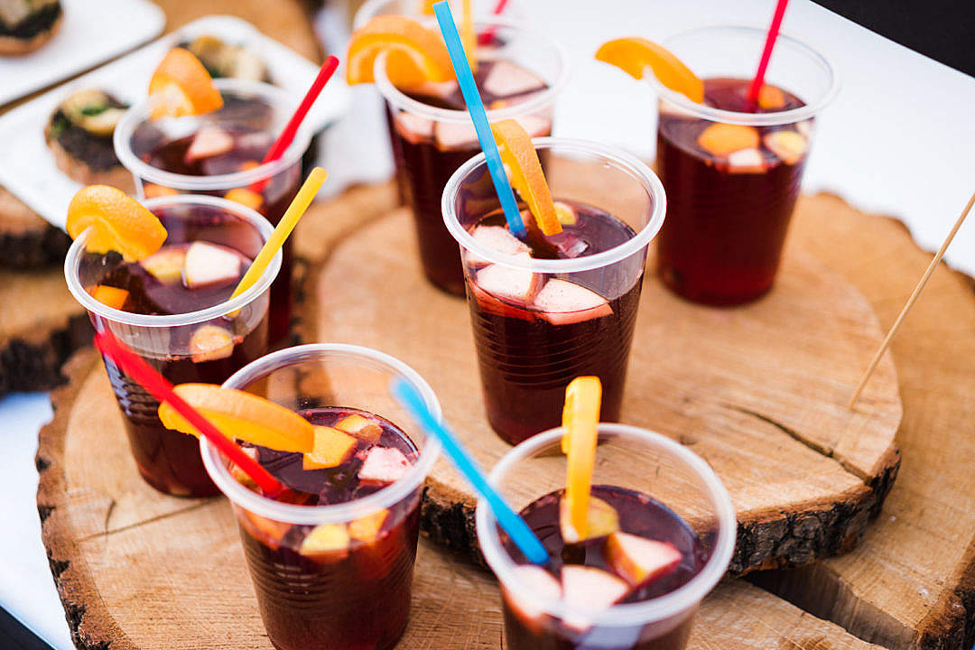 Download Summer Garden Party Cocktails Are Ready FREE Stock Photo