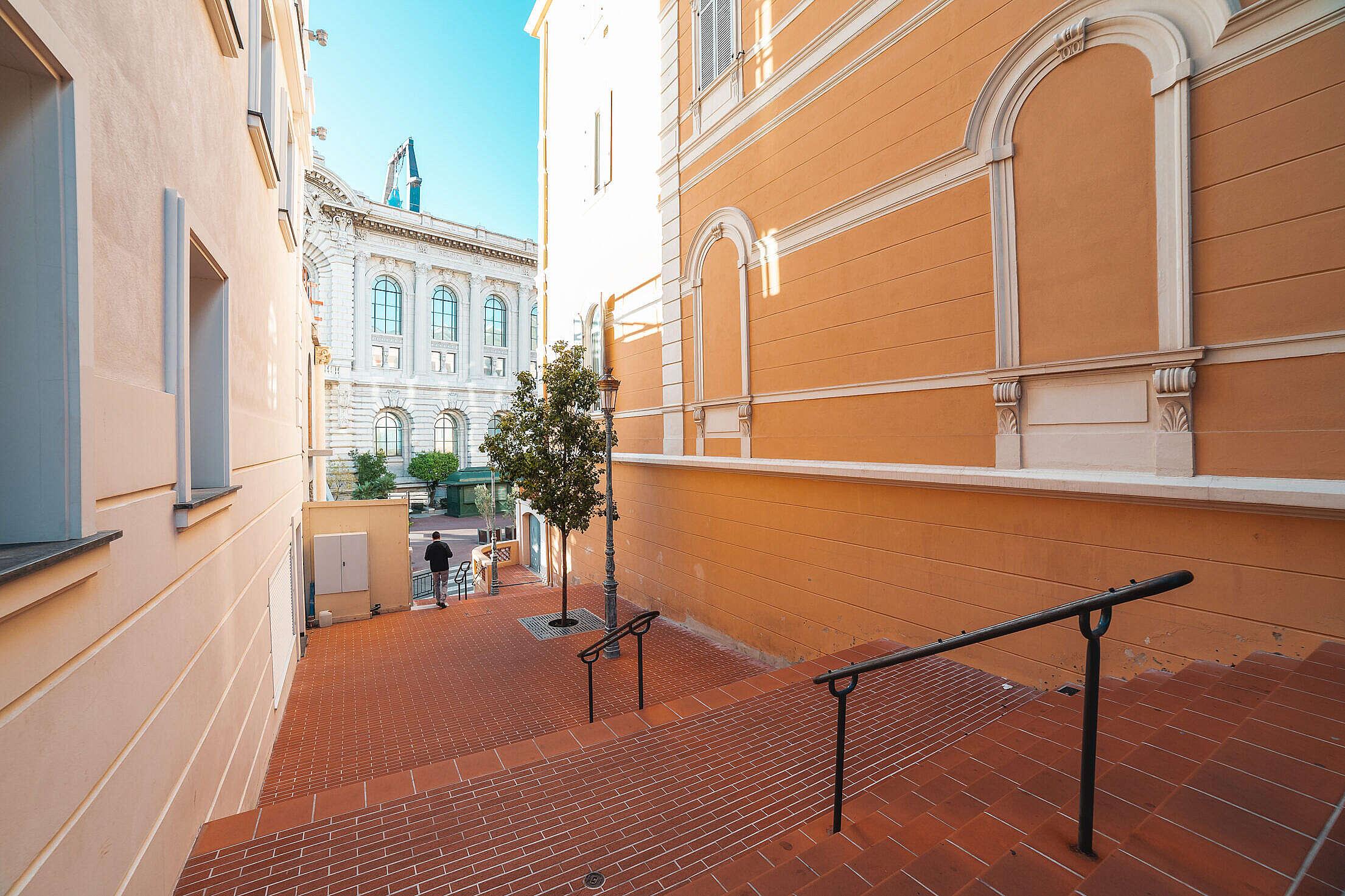 Super Clean Streets of Monaco Free Stock Photo