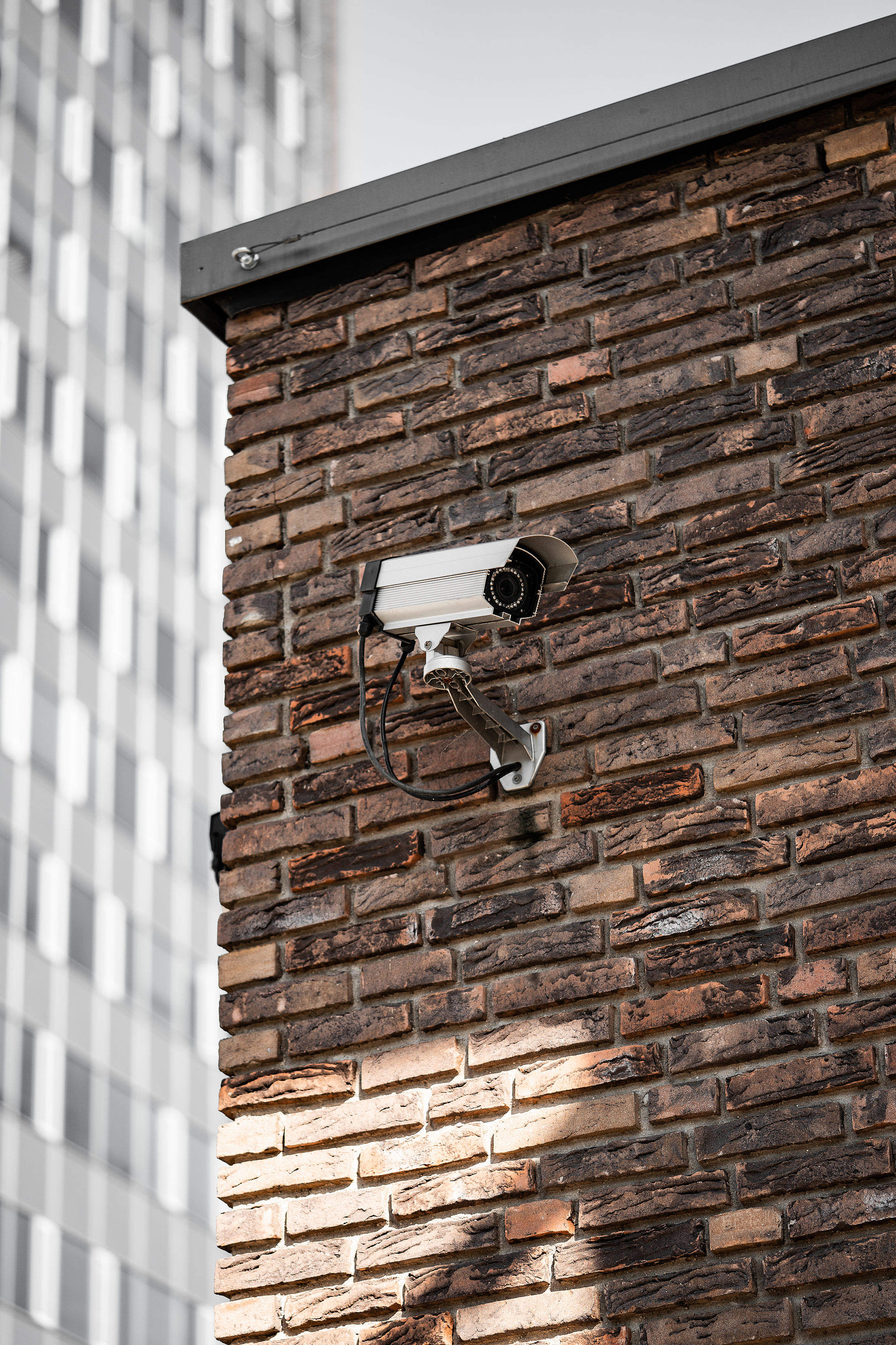 Download Surveillance Camera Vertical Free Stock Photo