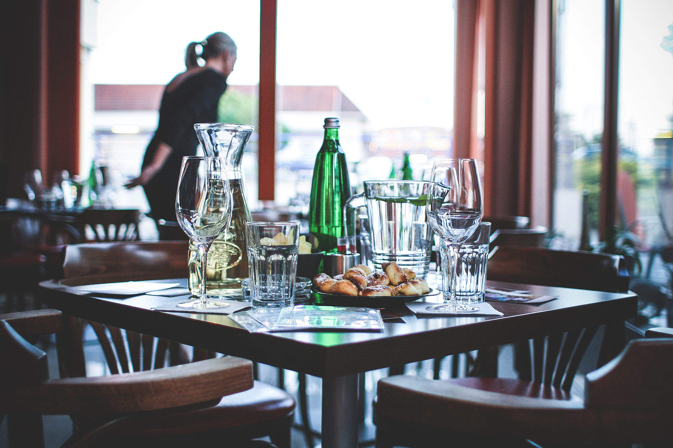 Table Is Ready For A Party! Free Stock Photo