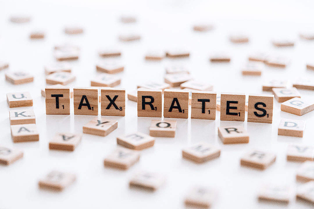 Download Tax Rates FREE Stock Photo