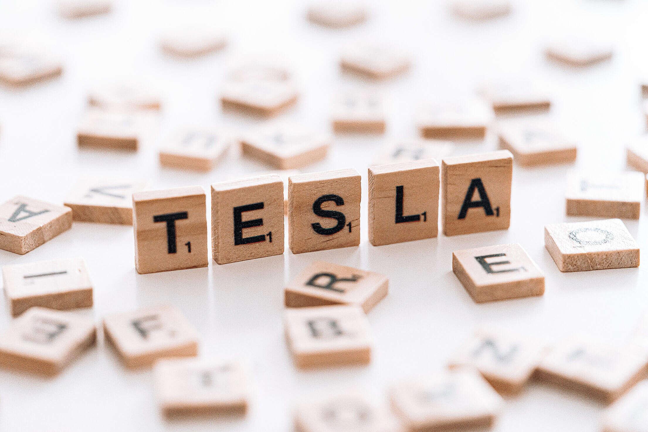 Tesla Free Stock Photo