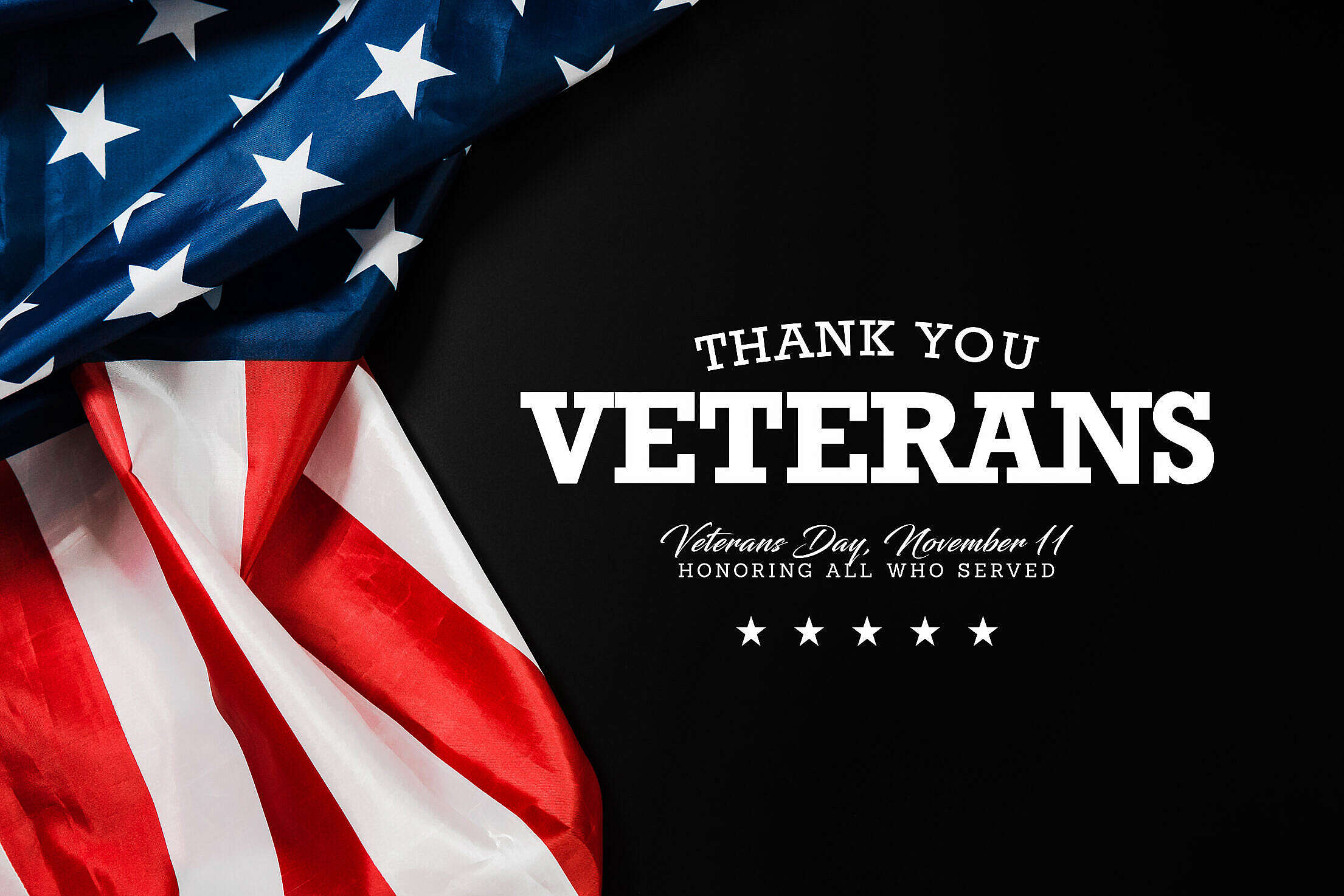 Thank You Veterans Free Stock Photo