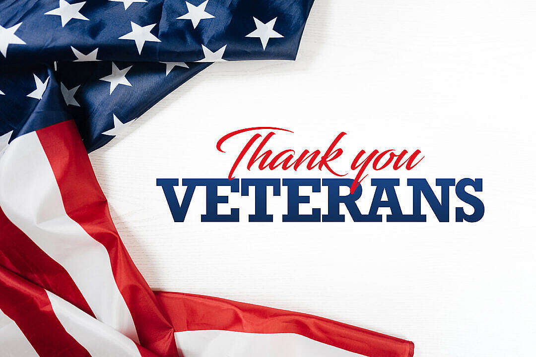 Download Thank You Veterans Letterings FREE Stock Photo