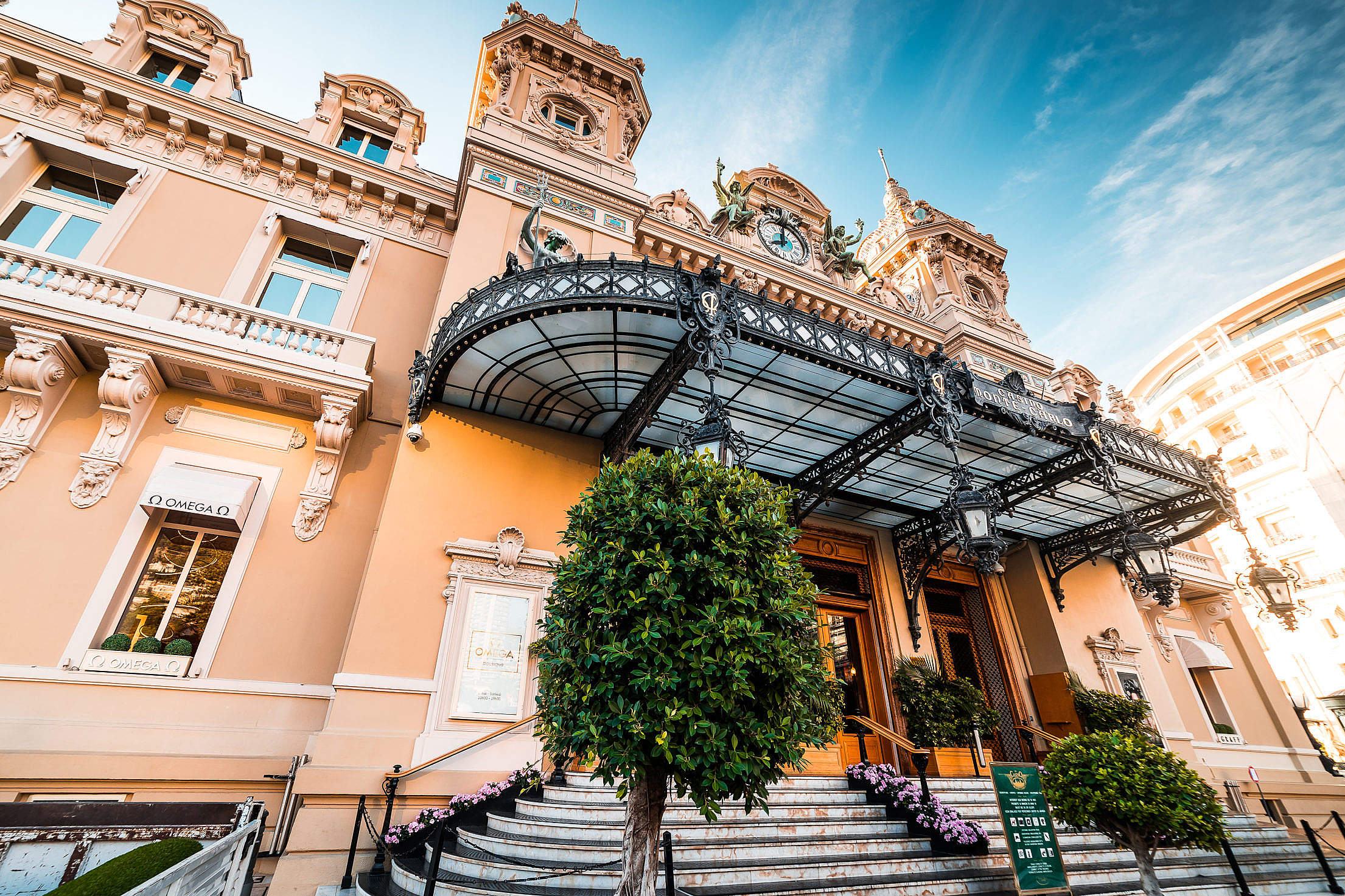 The Monte Carlo Casino Free Stock Photo