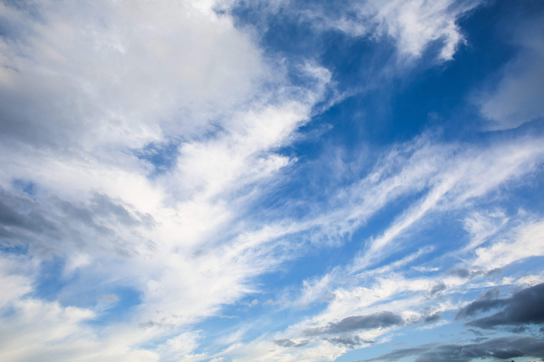 The Sky Full of Clouds Free Stock Photo