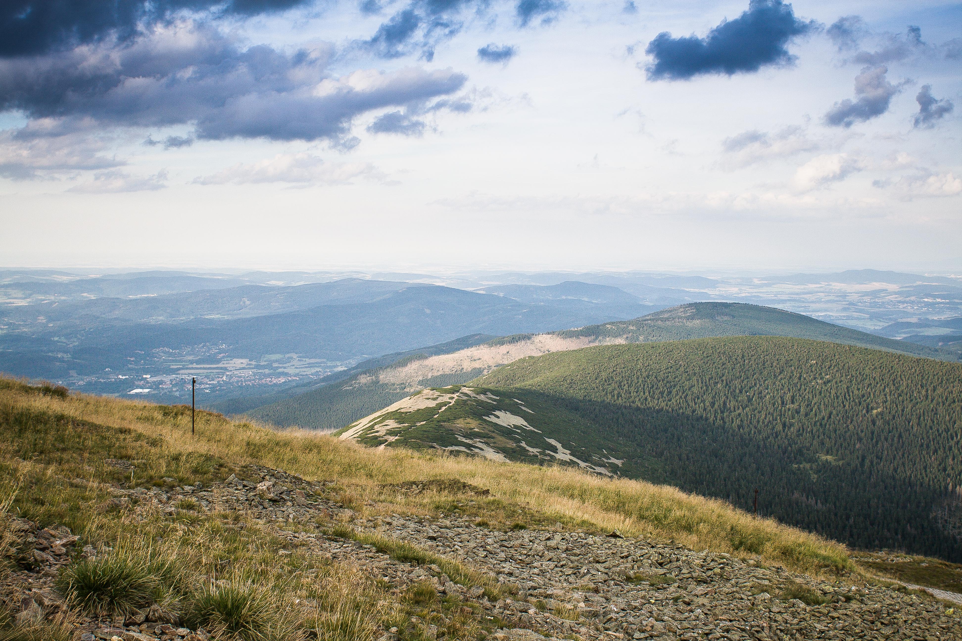 Download The Top of Sněžka Mountain, Czech Republic FREE Stock Photo