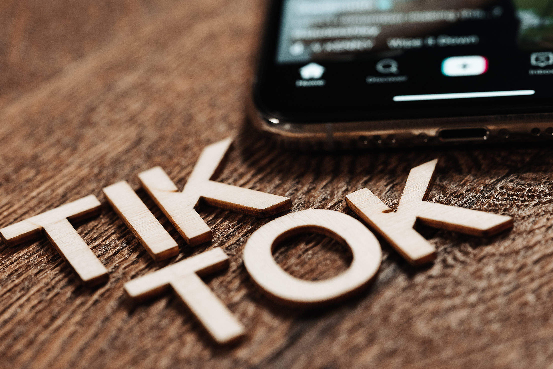 Tik Tok Free Stock Photo