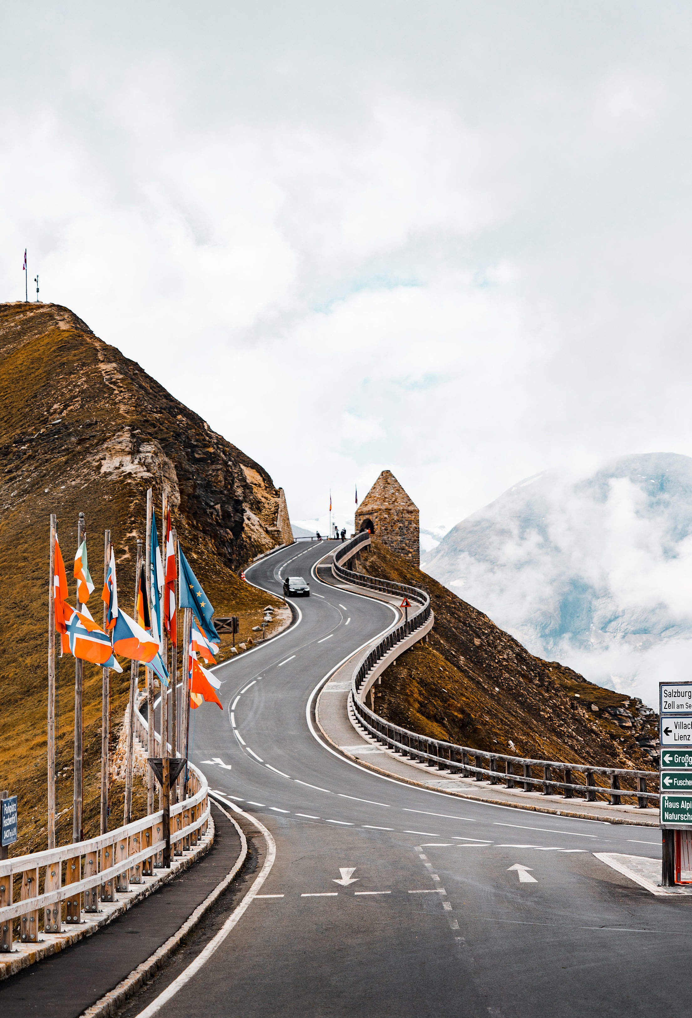 Top of the Grossglockner Road, Austria Free Stock Photo