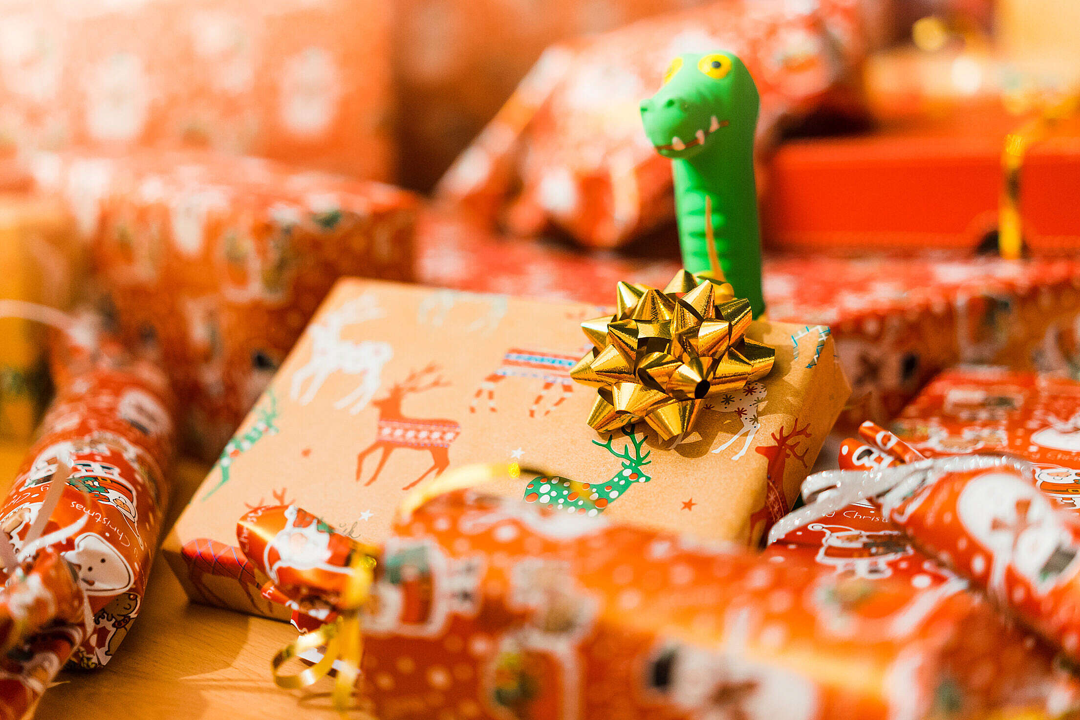 Toy for Dogs and Christmas Gifts Free Stock Photo