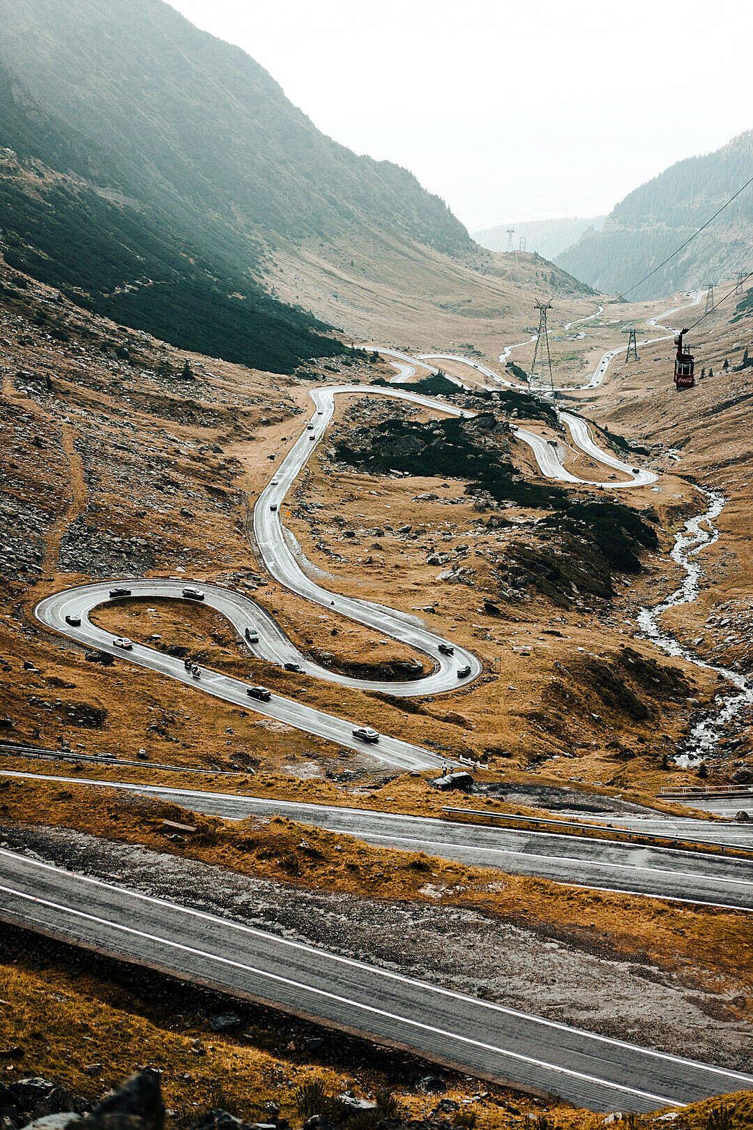 Download Transfagarasan Road in Romania FREE Stock Photo