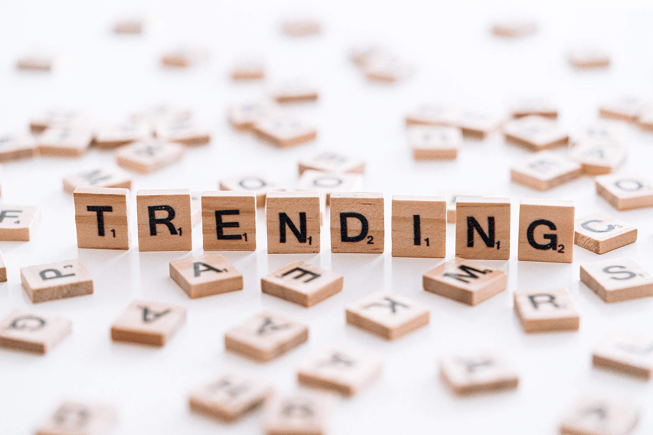 Trending Topics Free Stock Photo