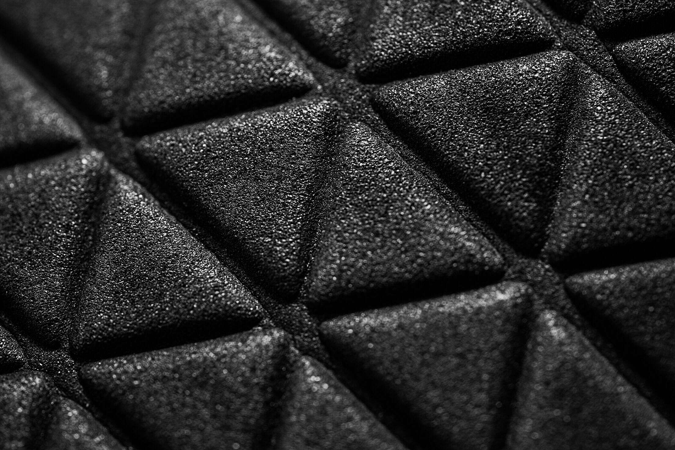 Triangle 3D Abstract Macro Pattern Free Stock Photo