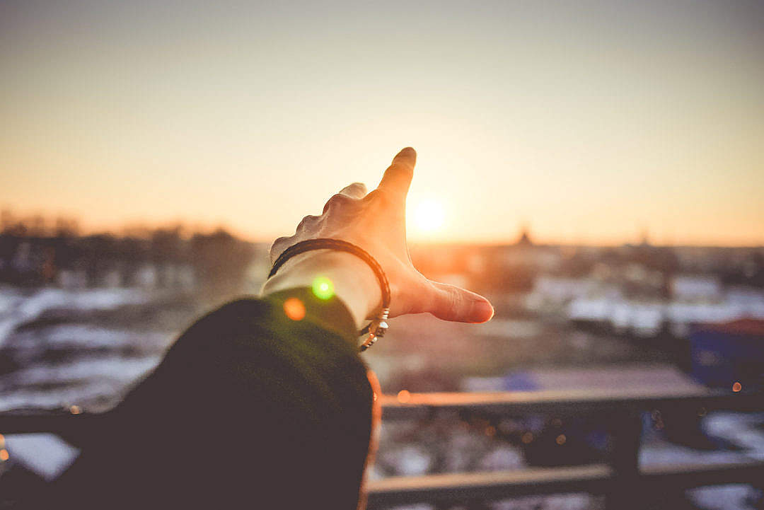 Download Trying to Reach The Sun FREE Stock Photo