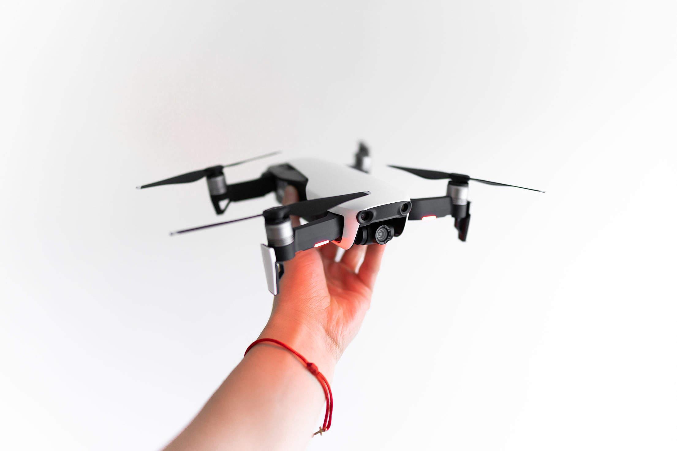 UAV Quadcopter Drone Free Stock Photo