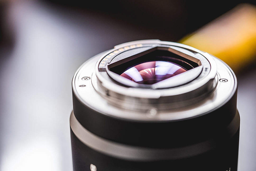 Download Uncovered Zoom Camera Lens Electronics Rear Side FREE Stock Photo