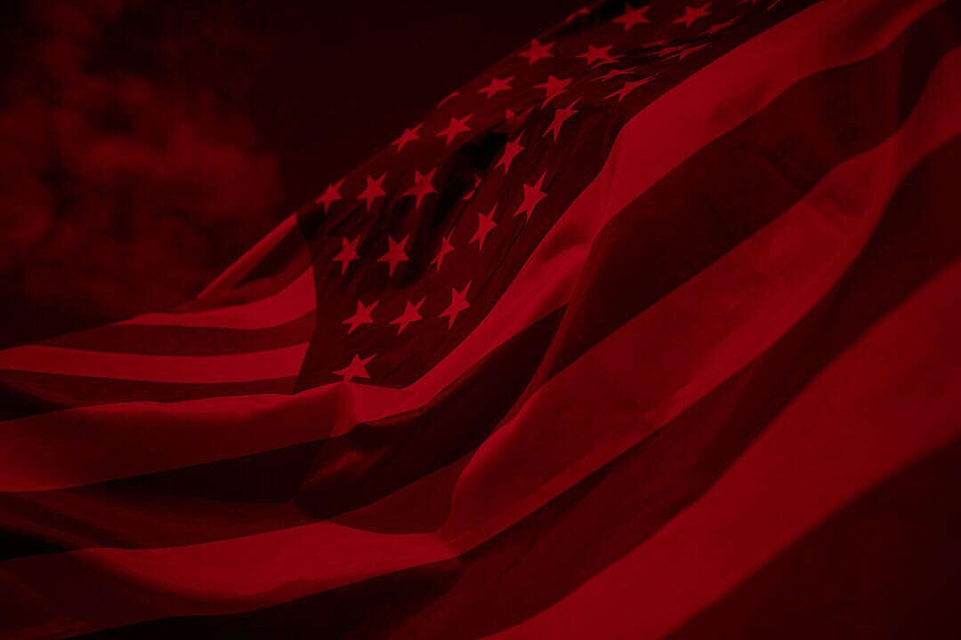 Download USA Flag Duotone FREE Stock Photo