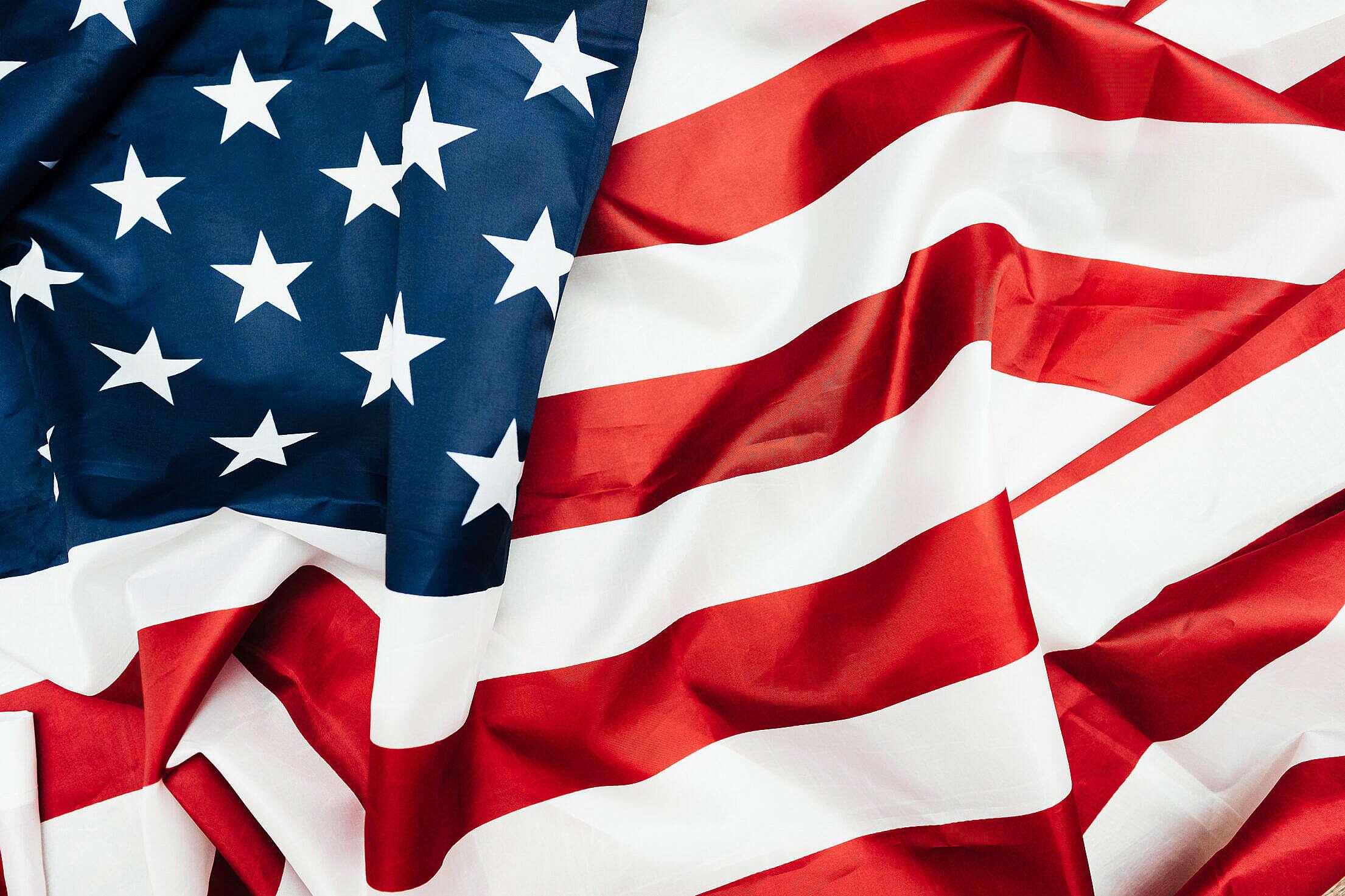 USA Flag Free Stock Photo