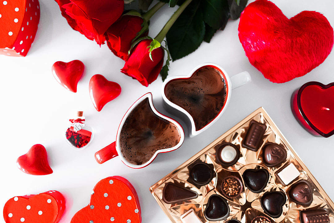 Download Valentine's Day Hearts FREE Stock Photo