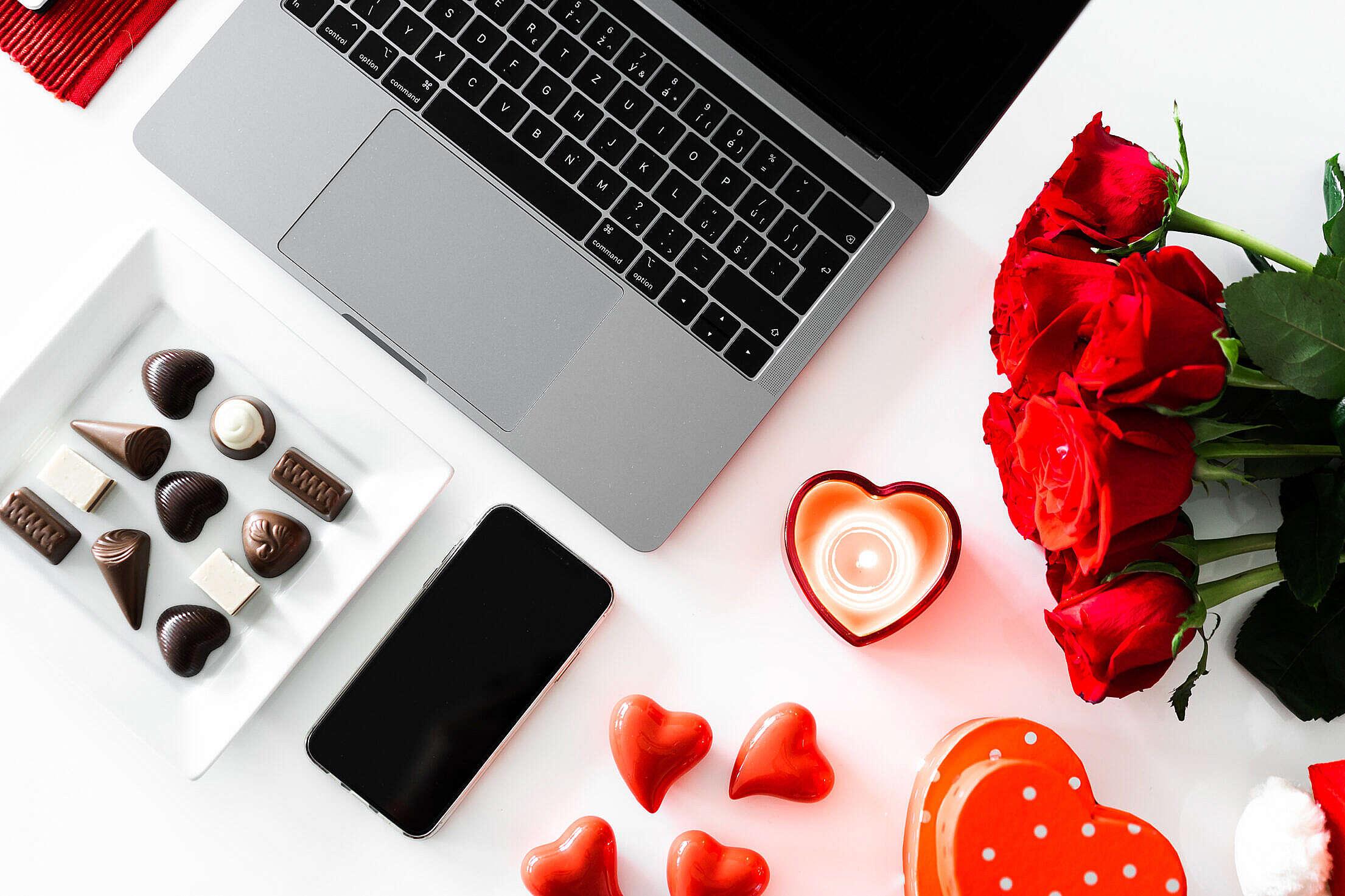 Valentine's Day Marketing Free Stock Photo