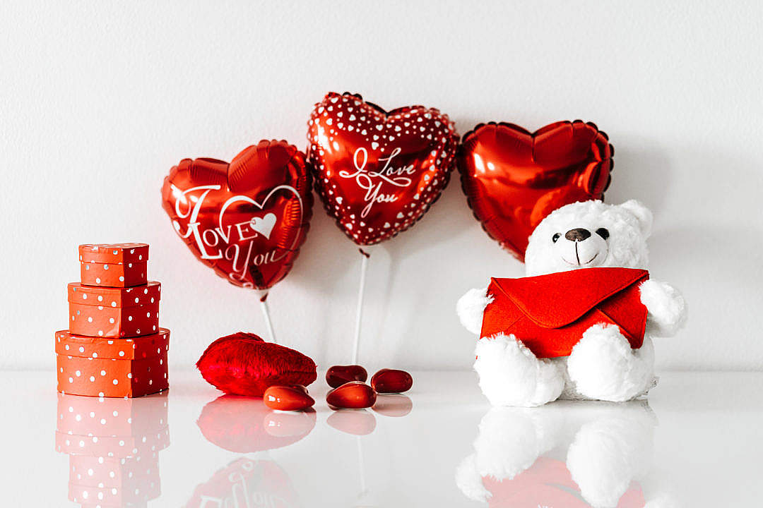 Download Valentine's Day Still Life FREE Stock Photo