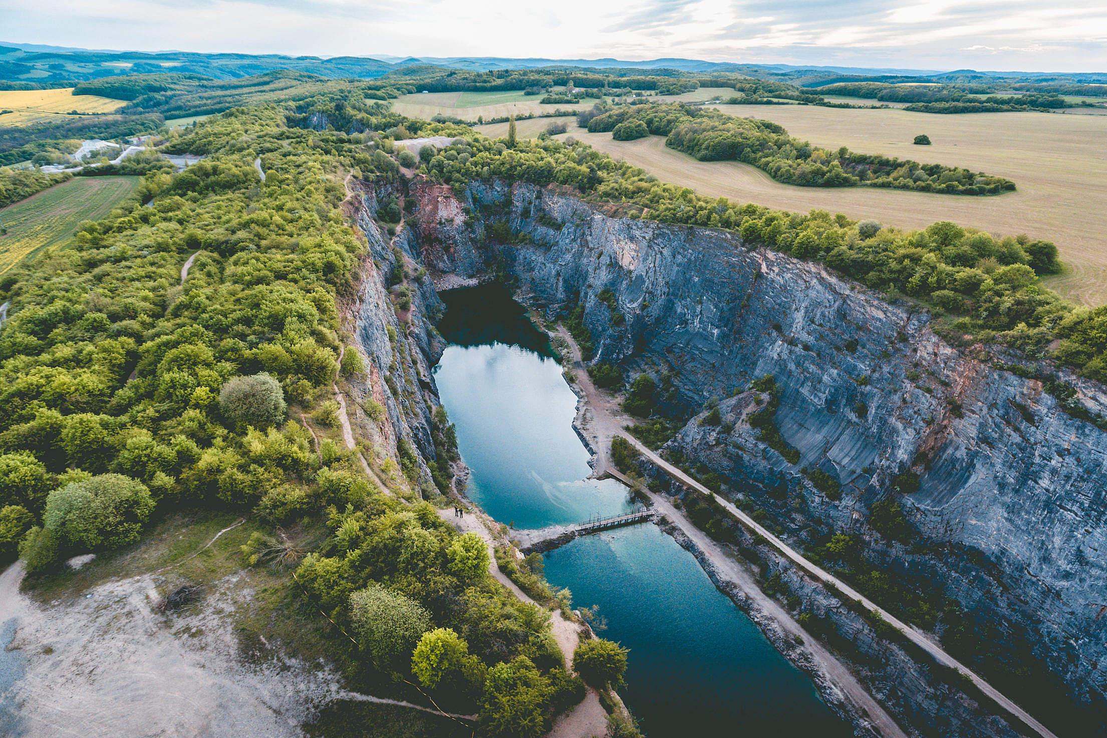 Velka Amerika Quarry, Czech Republic Free Stock Photo