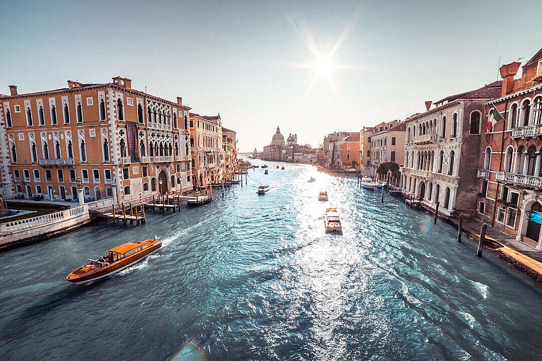 Download Venice Canal Grande FREE Stock Photo